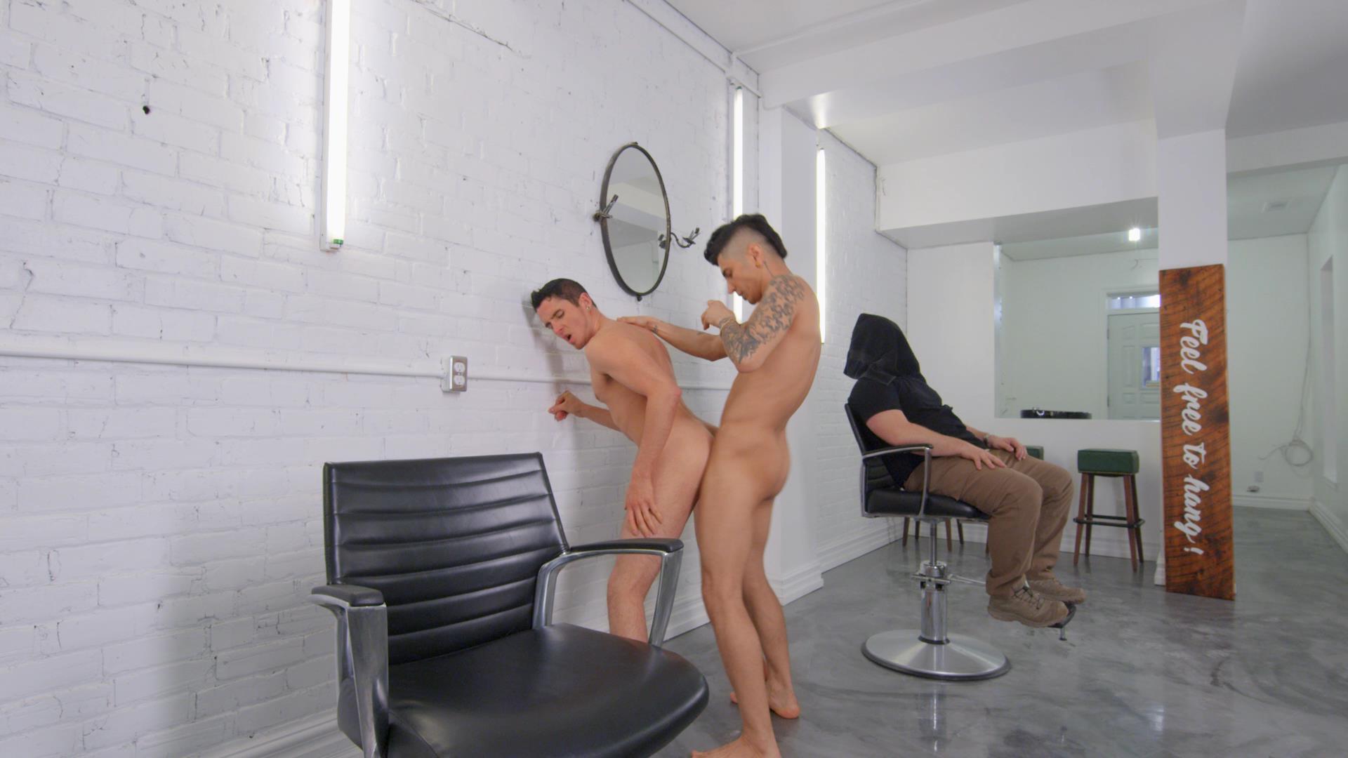 Dudes In Public 47 - Barbershop - San Bass / Killiam Wesker