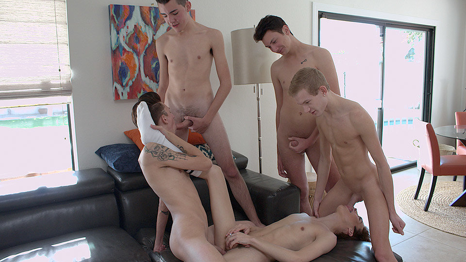 Connor Jacobs, Trey Ryan Orgy