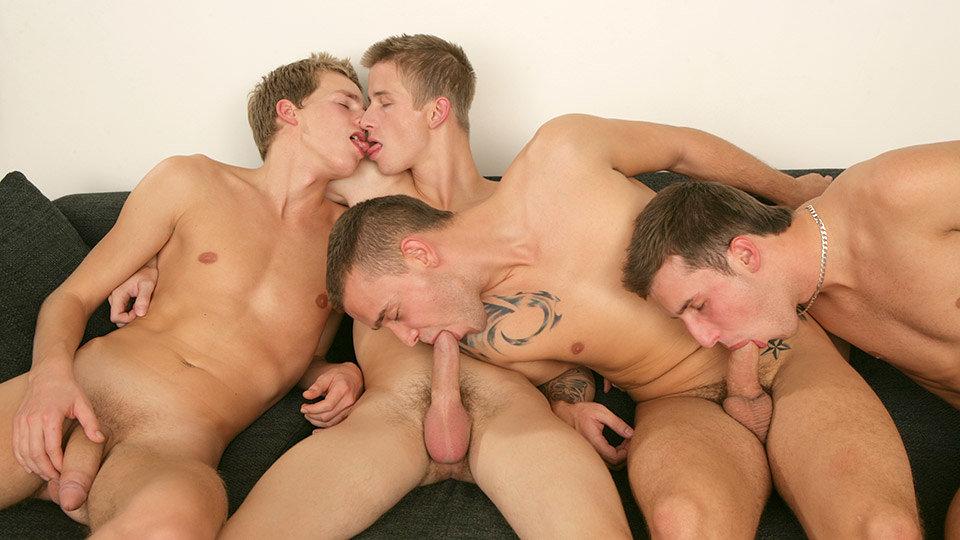 David Gold, Chester Pool, Patrik Jensen & Thomas Fiaty