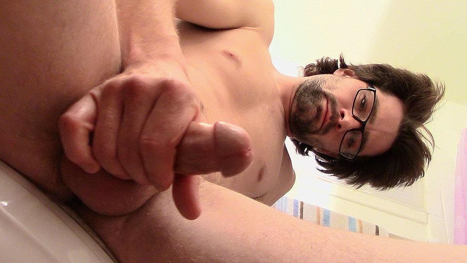 Pissing & Pumping Fresh Cum - Mickey Waters