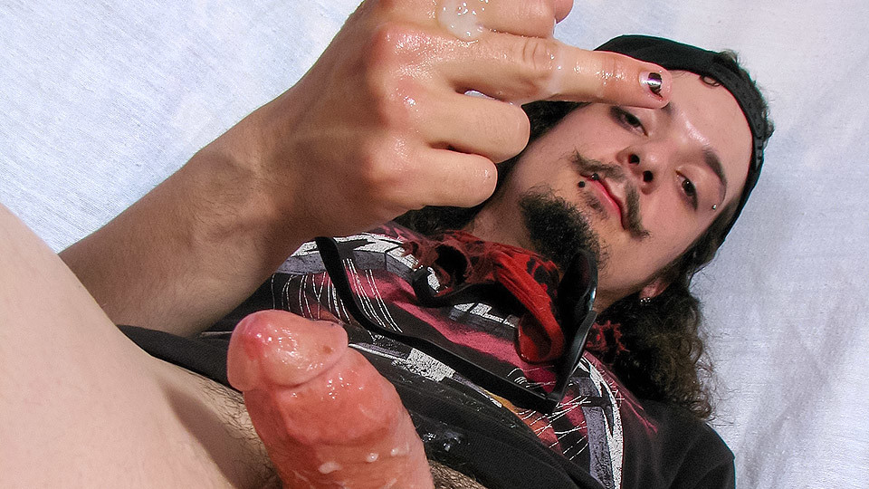 Max Rubbing His Rocker Cock