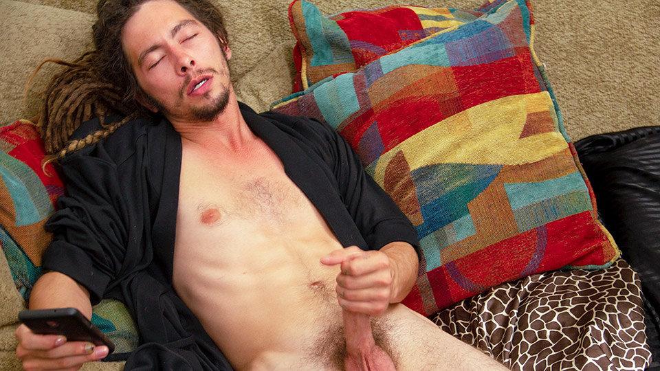 Anal Play Gives Jack A Big Load - Jack Holden