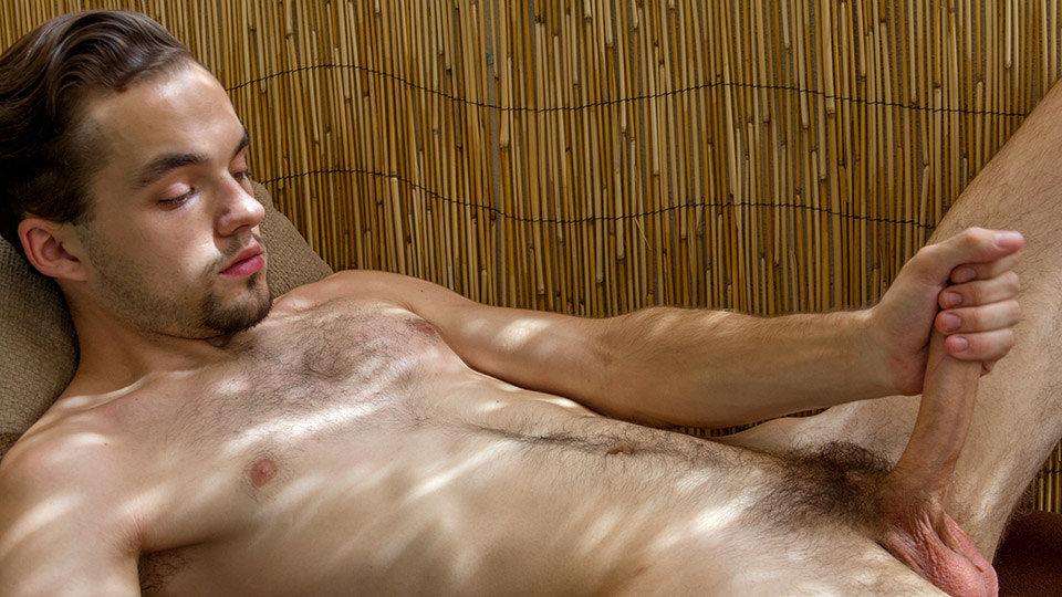 A Dildo For His Tight Hole! - Marcus Rivers